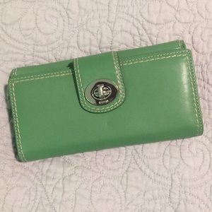 Authentic Coach Wallet - Like New